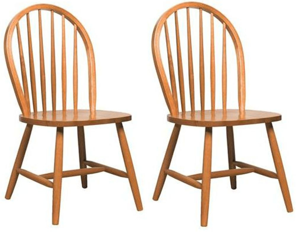 Vida Living Windsor Natural Dining Chair (Pair)