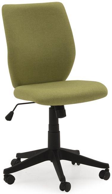 Vida Living Nordin Office Chair - Green Linen Fabric