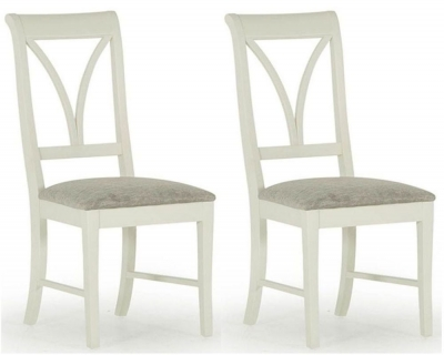 Vida Living Chalk Grey Dining Chair (Pair)