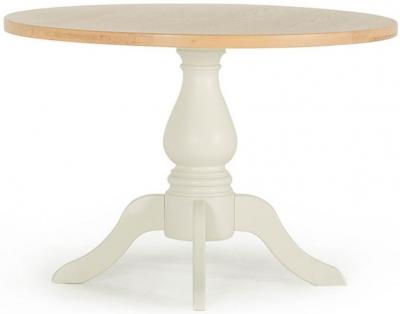 Vida Living Chalk Round Dining Table