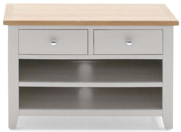 Vida Living Chambery Oak TV Unit - Small