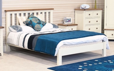 Vida Living Chaumont Ivory Bed