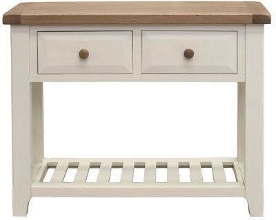 Vida Living Chaumont Ivory Console Table - Large