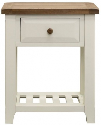 Vida Living Chaumont Ivory Console Table - Small