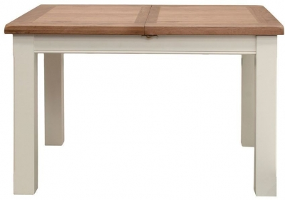 Vida Living Chaumont Ivory Dining Table - Small Extending