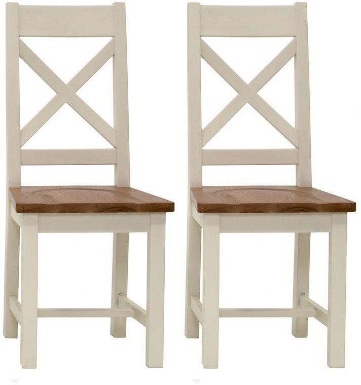 Vida Living Chaumont Ivory Dining Chair (Pair)