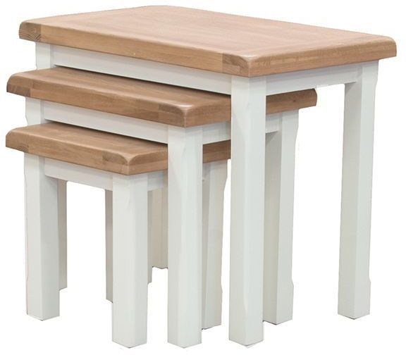 Vida Living Chaumont Ivory Nest of Tables