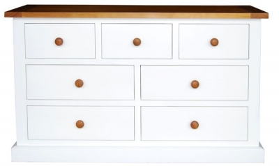 Vida Living Cherbourg Painted Chest of Drawer - 3 Over 4 Drawer