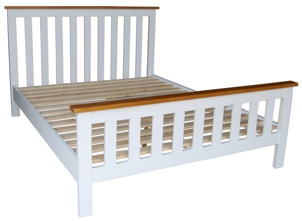 Vida Living Cherbourg Painted Bed - 3ft Single