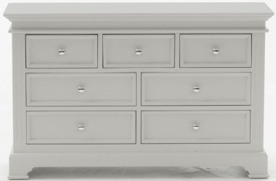Clearance Vida Living Deauville Dove Grey Dresser - G552
