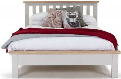 Vida Living Clemence Grey Painted Bed