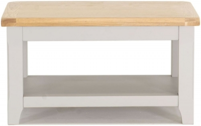 Vida Living Clemence Grey Painted Coffee Table