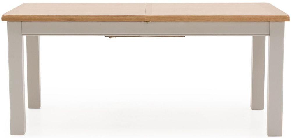 Vida Living Clemence Grey Painted 180cm Dining Table - Extending