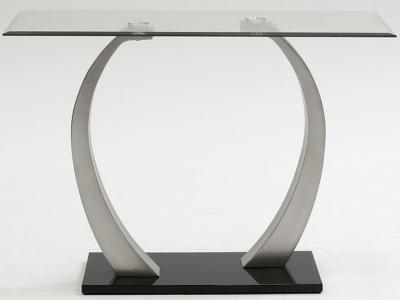 Vida Living Aspire Glass Console Table