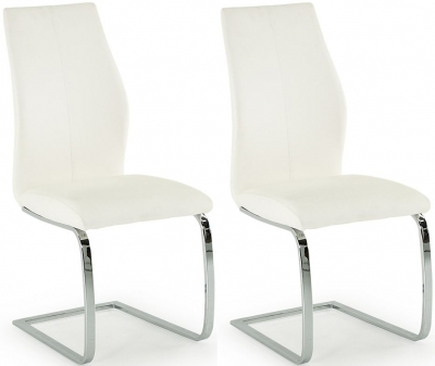 Vida Living Elis White Dining Chair (Pair)
