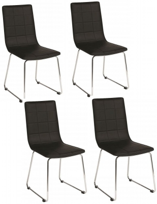 Vida Living Enzo Black Dining Chair (Set of 4)