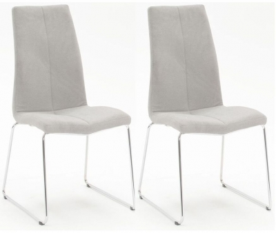 Vida Living Evoque Grey Dining Chair (Pair)