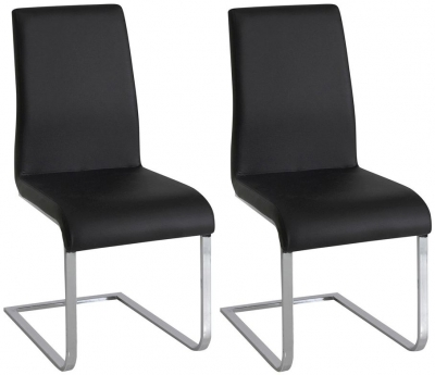 Vida Living Hue Black Dining Chair (Pair)