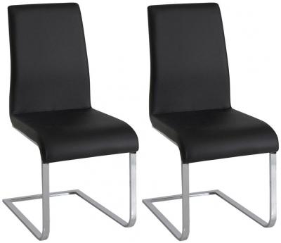 Vida Living Hue Black Dining Chair (Pair)