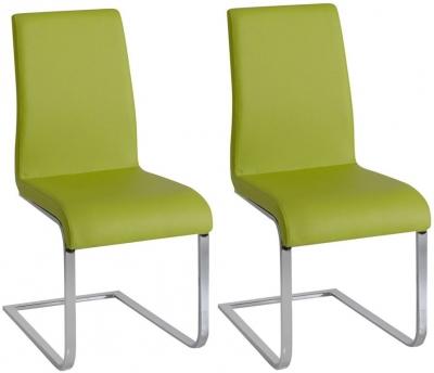 Vida Living Hue Green Dining Chair (Pair)