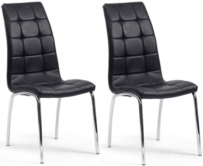 Vida Living Nina Black Dining Chair (Pair)