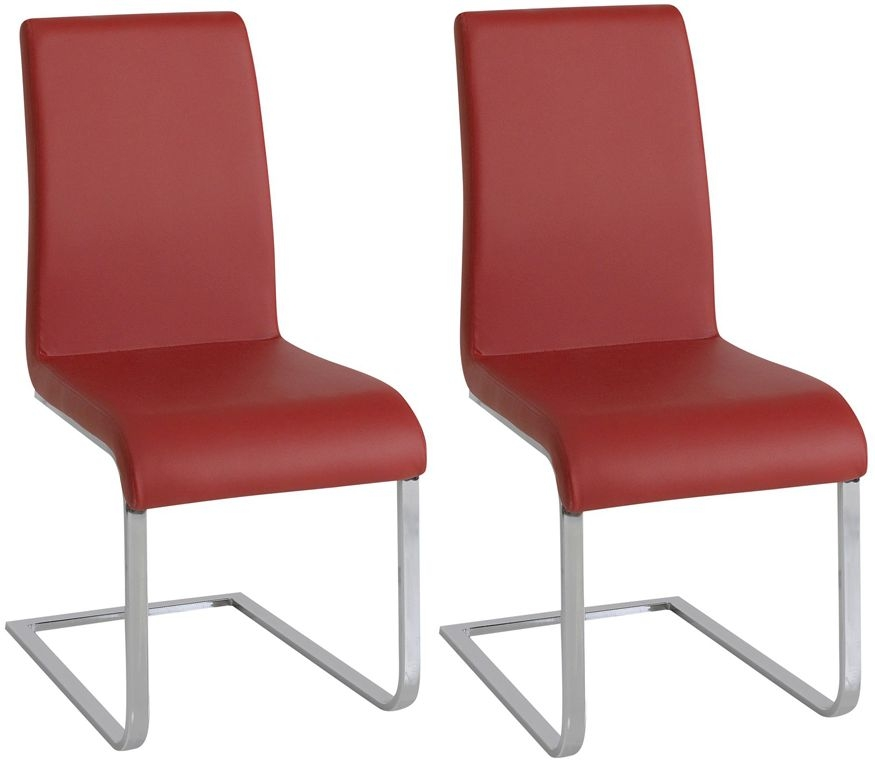 Vida Living Hue Red Dining Chair (Pair)