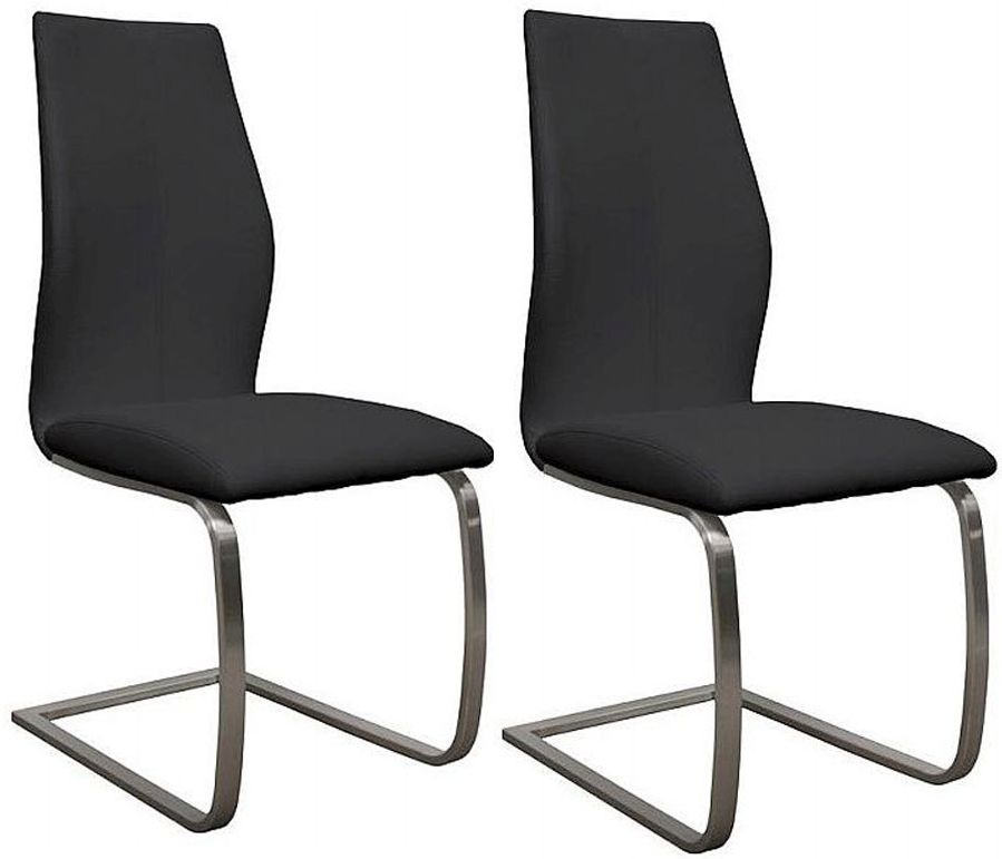 Buy Vida Living Irma Black Dining Chair Pair Online CFS UK : 3 Vida Living Irma Black Dining Chair Pair from www.choicefurnituresuperstore.co.uk size 899 x 771 jpeg 114kB