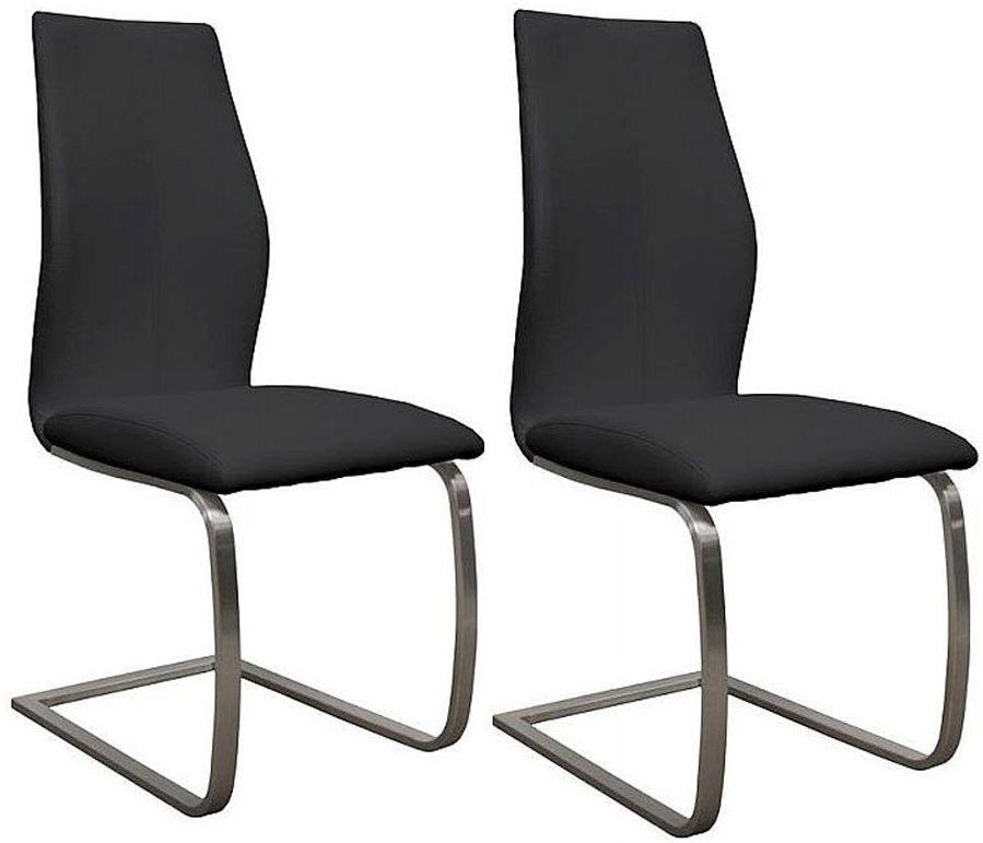 Vida Living Irma Black Dining Chair (Pair)