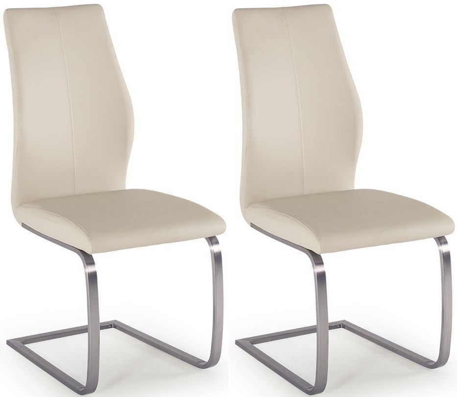 Vida Living Irma Taupe Dining Chair (Pair)