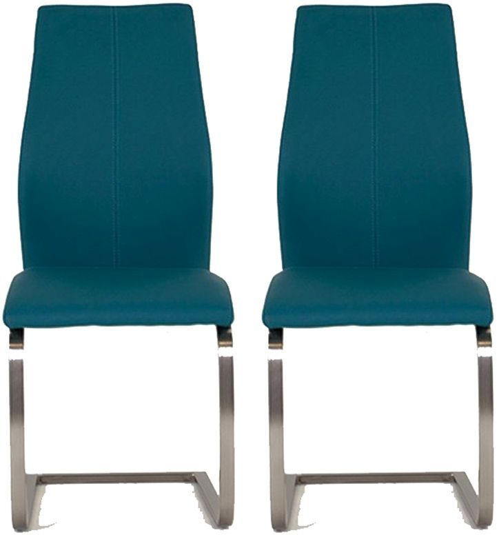 Vida Living Irma Teal Dining Chair (Pair)