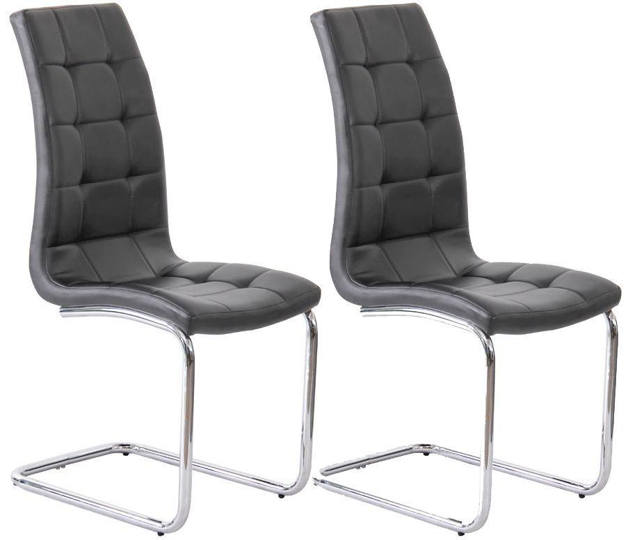 Vida Living Sienna Black Dining Chair (Pair)