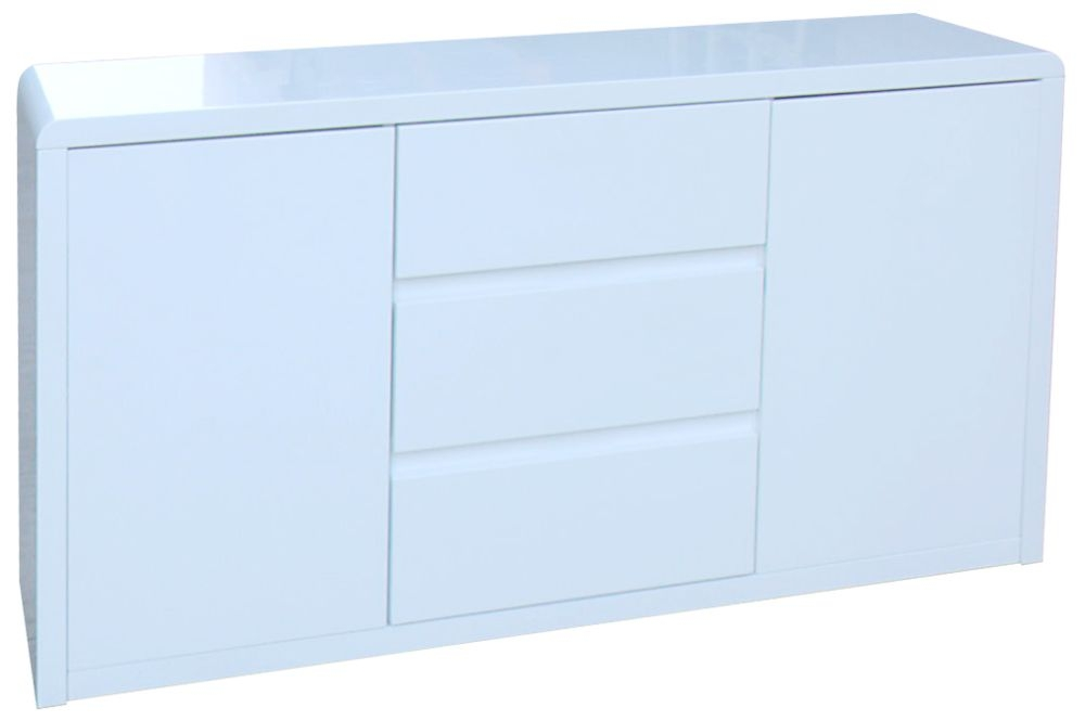 Vida Living Allure White Gloss Sideboard