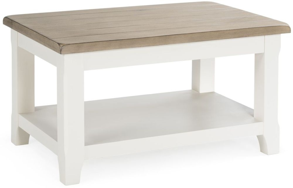 Vida Living Cranmore Pine Coffee Table