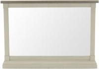Vida Living Croft Ivory Painted Rectangular Wall Mirror - W 94.4cm x H 68cm