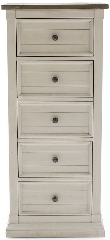 Vida Living Croft Painted Chest of Drawer - Narrow