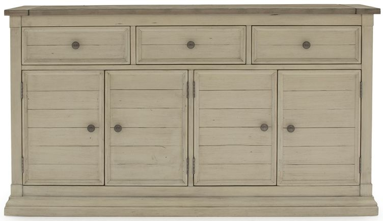 Vida Living Croft Painted 4 Door 3 Drawer Wide Sideboard