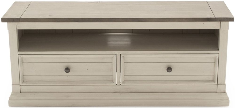 Vida Living Croft Painted TV Unit - Rectangular