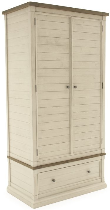 Vida Living Croft Painted Wardrobe - 2 Doors