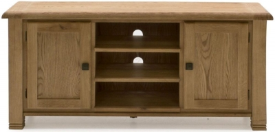 Vida Living Danube Natural Oak 2 Door TV Unit