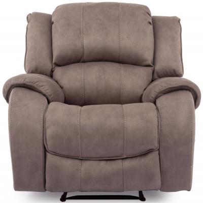 Vida Living Darwin Smoke Fabric Recliner Chair