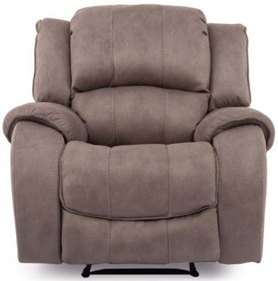 Vida Living Darwin Smoke Nett 1 Seater Electric Recliner Chair