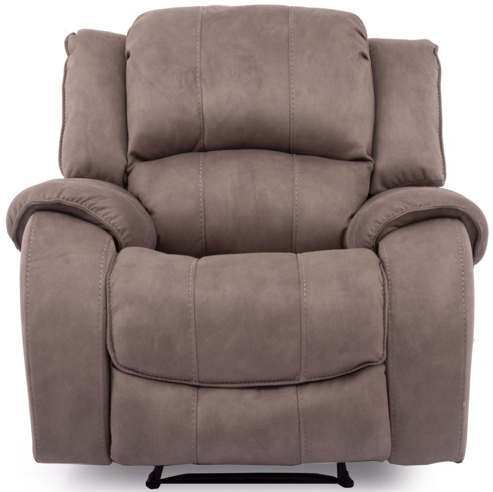 Beau Vida Living Darwin Smoke Fabric Recliner Chair