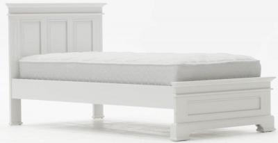 Vida Living Deauville Dove Grey 3ft Single Bed