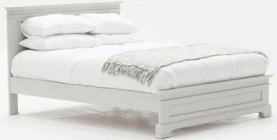 Vida Living Deauville Dove Grey Bed