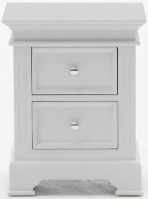 Vida Living Deauville Dove Grey Bedside Cabinet
