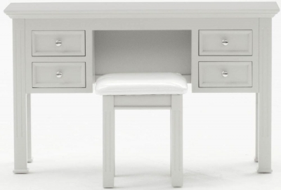 Vida Living Deauville Dove Grey Dressing Table Stool