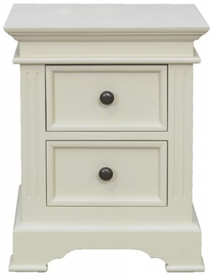 Vida Living Deauville Painted Bedside Cabinet - 2 Drawer