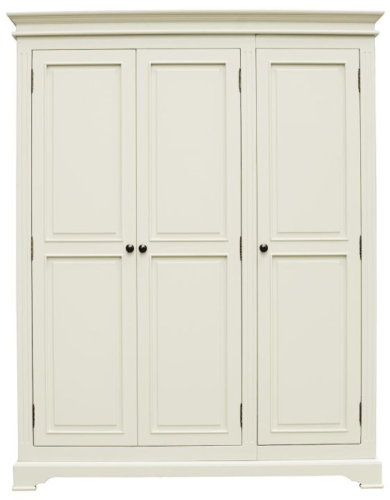 Vida Living Deauville Painted Wardrobe - 3 Door