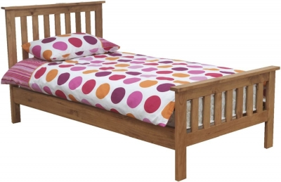 Vida Living Devon Pine Bed