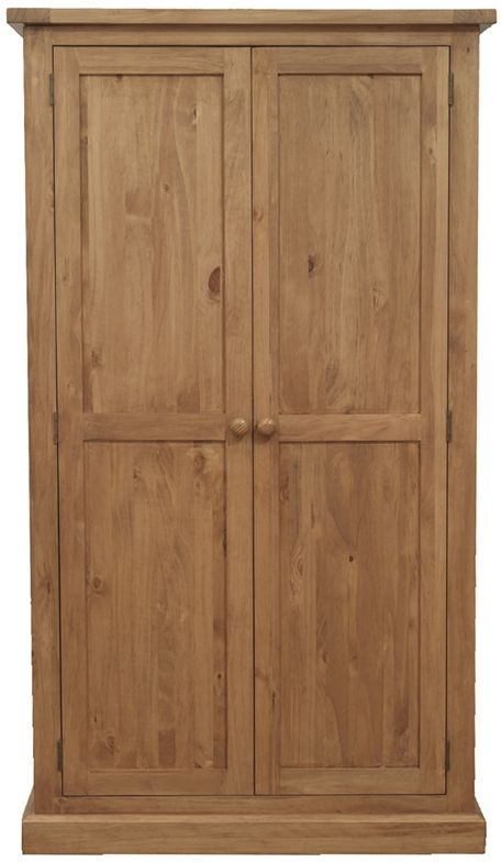 Vida Living Devon Pine Wardrobe - 2 Door